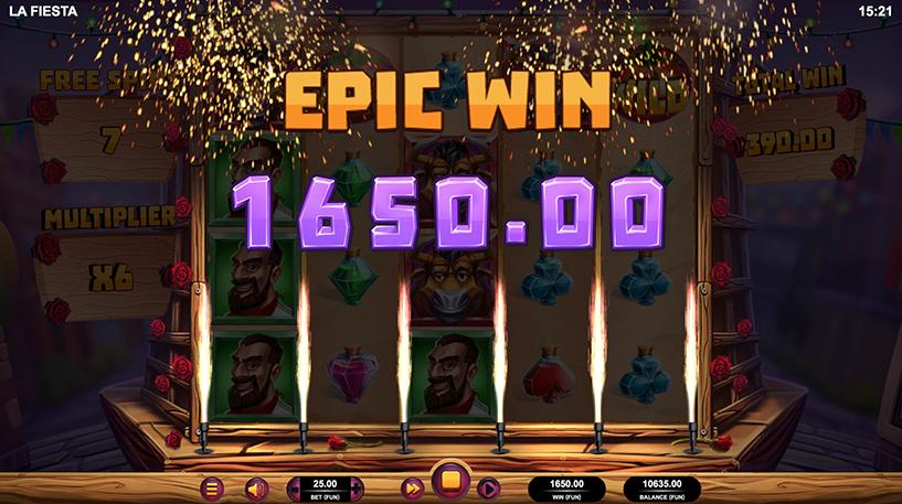La Fiesta Slot Screenshot 2