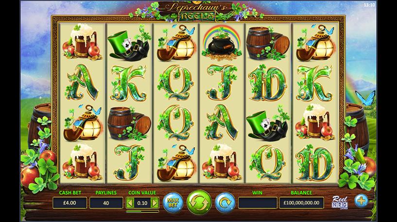 Leprechaun's Reels Slot Screenshot 2