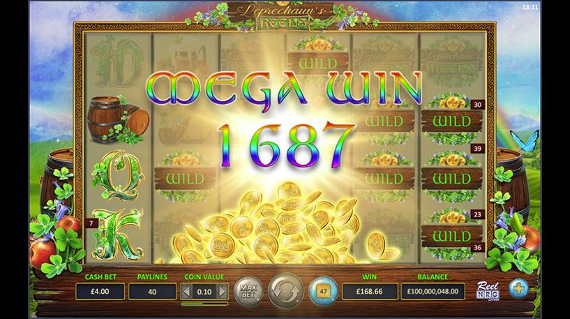 Leprechaun's Reels Slot Screenshot 1