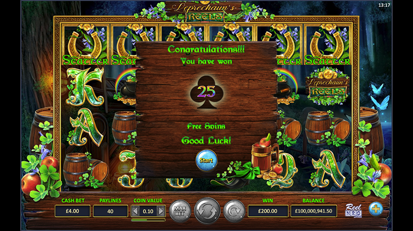 Leprechaun's Reels Slot Screenshot 3