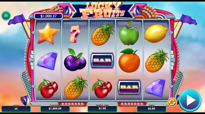 Lucky Fruits Slot Screenshot 2