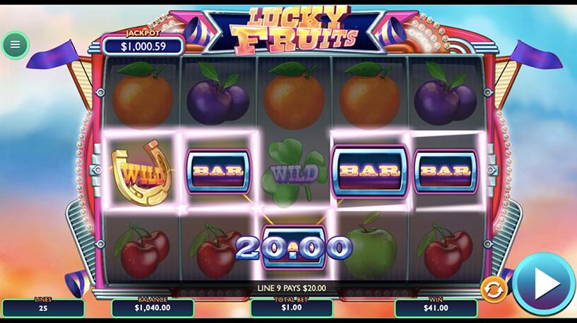 Lucky Fruits Slot Screenshot 1