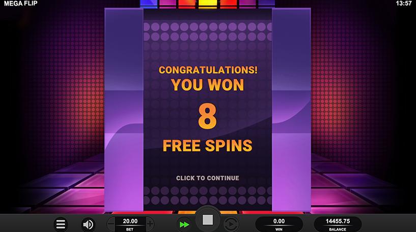 Mega Flip Slot Screenshot 2