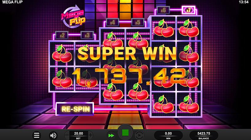 Mega Flip Slot Screenshot 3