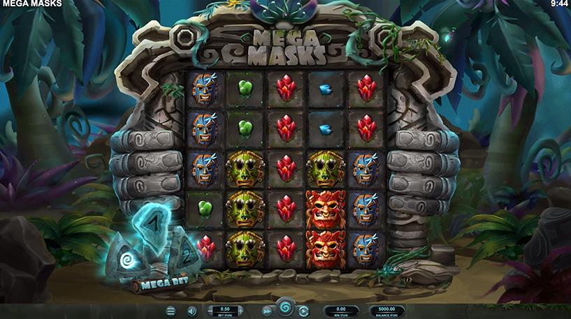 Mega Masks Slot Screenshot 1