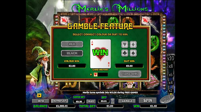 Merlins Millions Superbet Screenshot 1