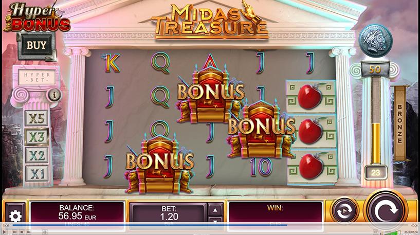 Midas Treasure Slot Screenshot 2