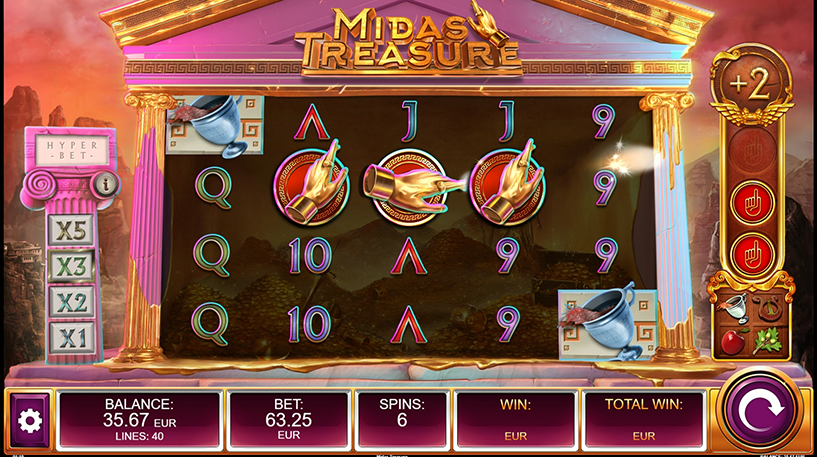 Midas Treasure Slot Screenshot 3