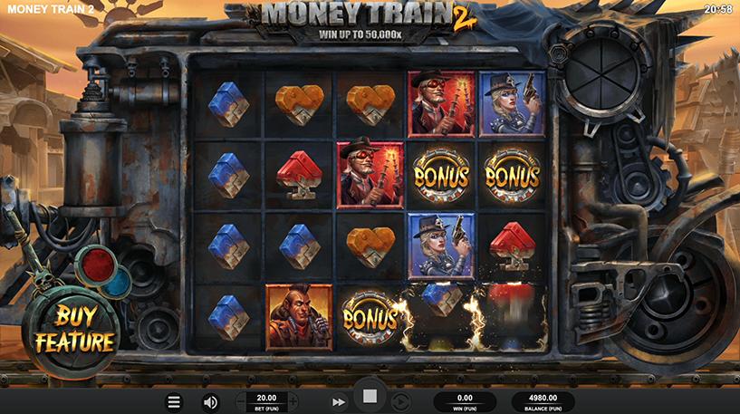 Money Train 2 Slot Screenshot 1