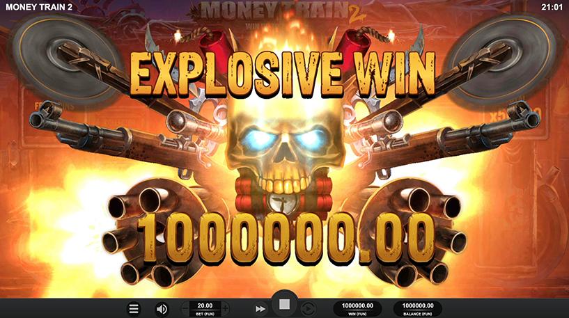 Money Train 2 Slot Screenshot 2