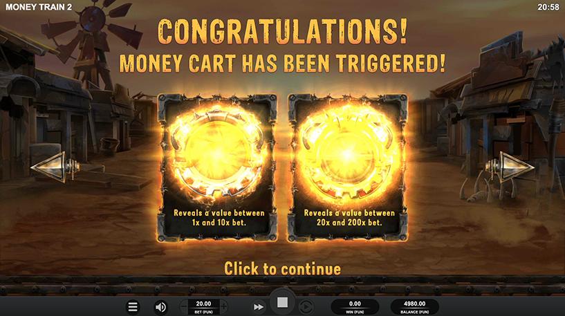 Money Train 2 Slot Screenshot 3