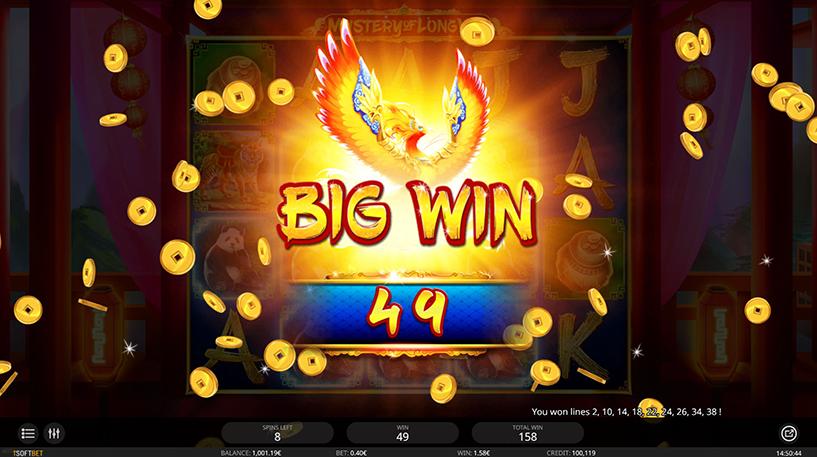 Mystery of Longwei Slot Screenshot 2