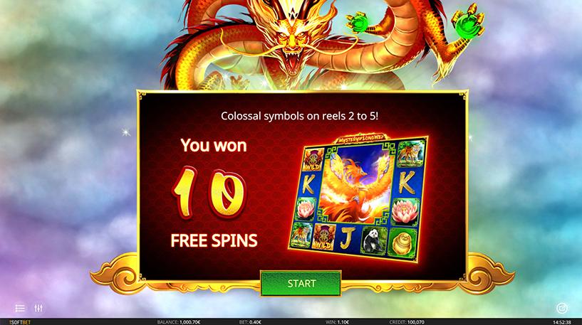 Mystery of Longwei Slot Screenshot 1
