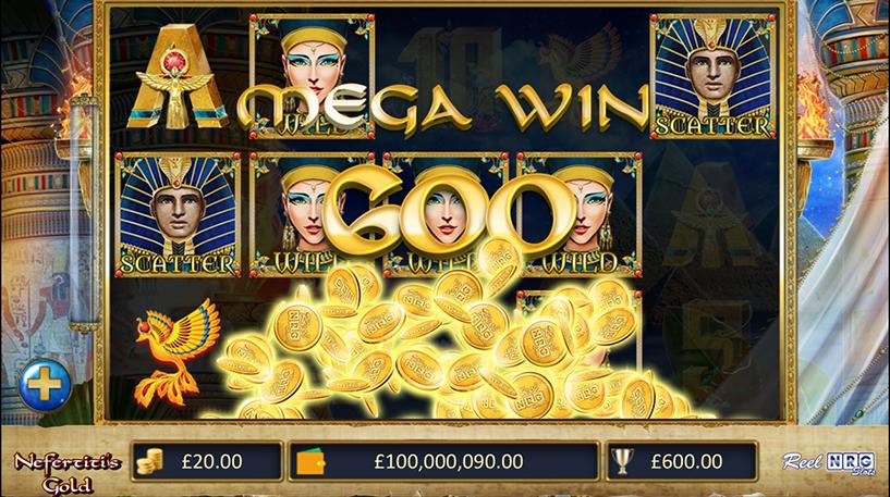 Nefertiti's Gold Slot Screenshot 3