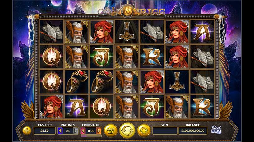 Odin and Figg Slot Screenshot 1