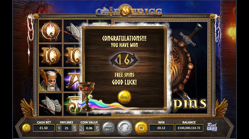 Odin and Figg Slot Screenshot 2