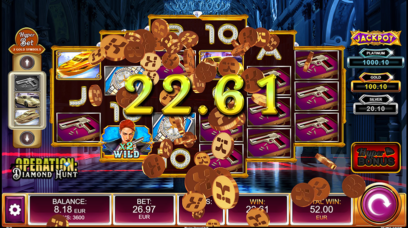 Operation: Diamond Hunt Slot Screenshot 2