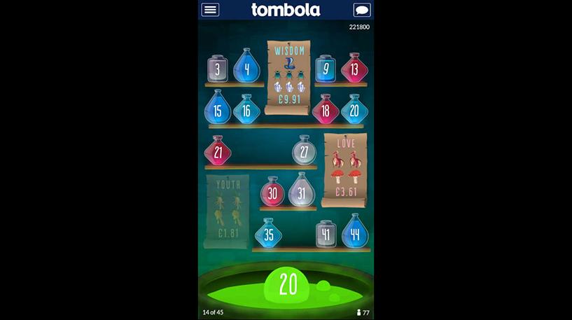 Potion Bingo Screenshot 1