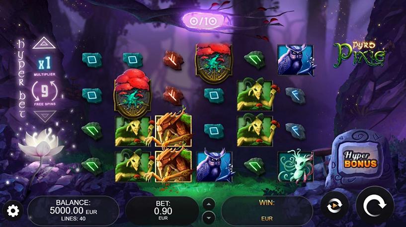 Pyro Pixie Slot Screenshot 2