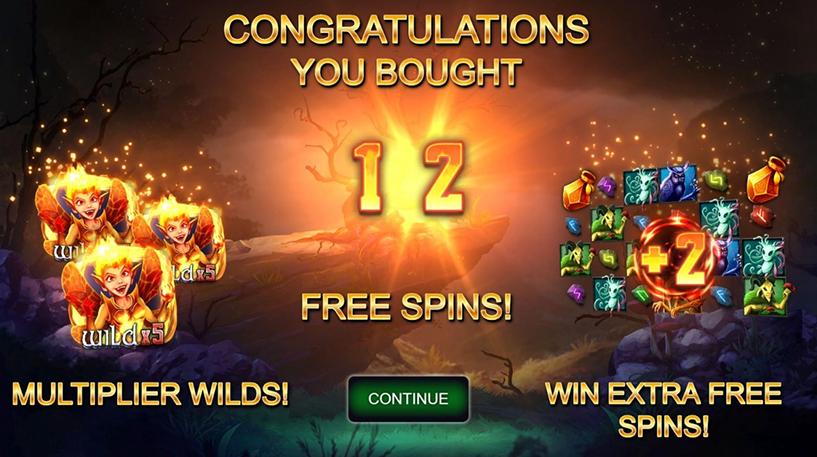 Pyro Pixie Slot Screenshot 1
