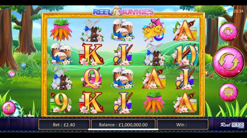Reel Bunnies Slot Screenshot 1