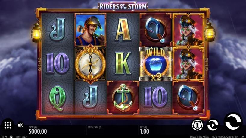 Riders of the Storm Slot Screenshot 2