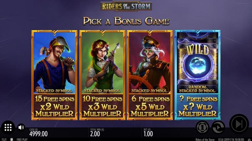 Riders of the Storm Slot Screenshot 3