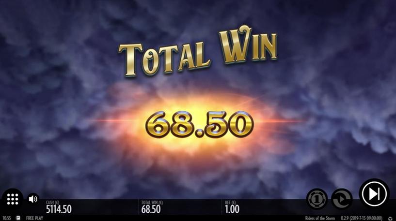 Riders of the Storm Slot Screenshot 1
