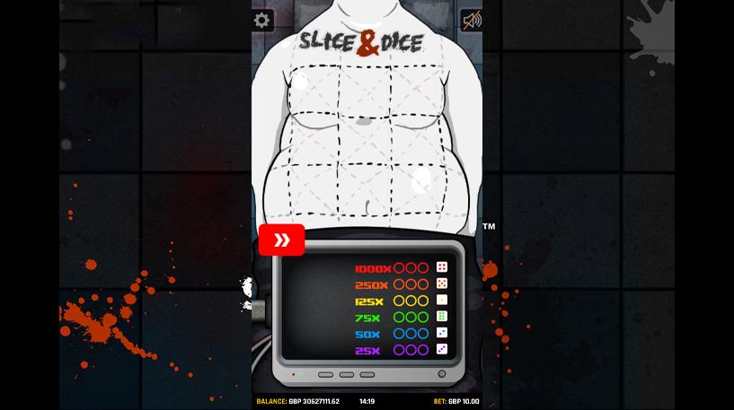 Slice and Dice Slots Screenshot 2