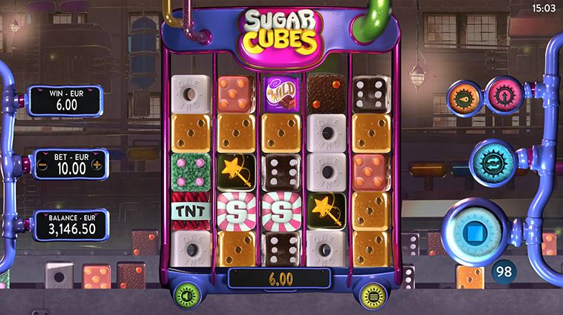 Sugar Cubes Slot Screenshot 1