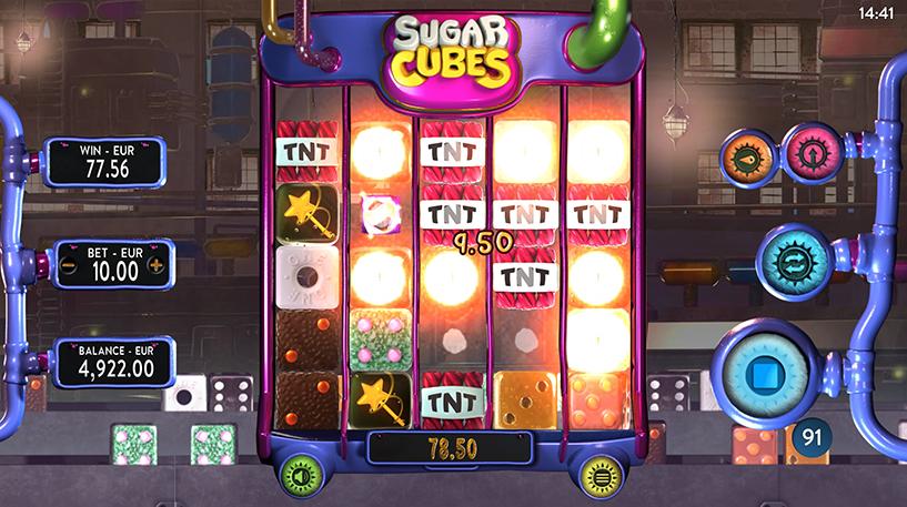 Sugar Cubes Slot Screenshot 2