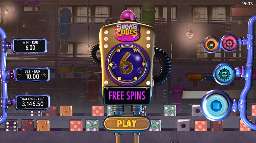 Sugar Cubes Slot Screenshot 3