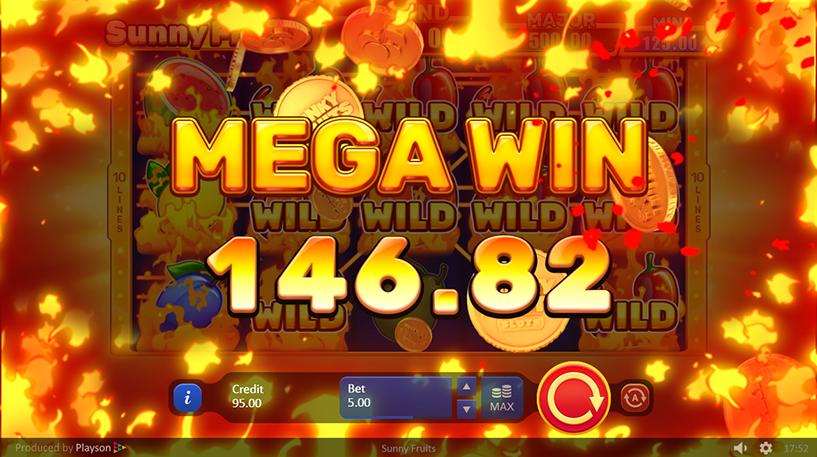 Sunny Fruits Hold and Win Slot Screenshot 3