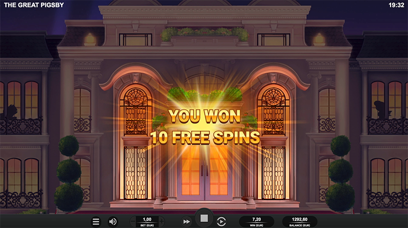 The Great Pigsby Slot Screenshot 3
