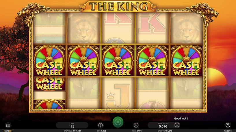The King Slot Screenshot 3