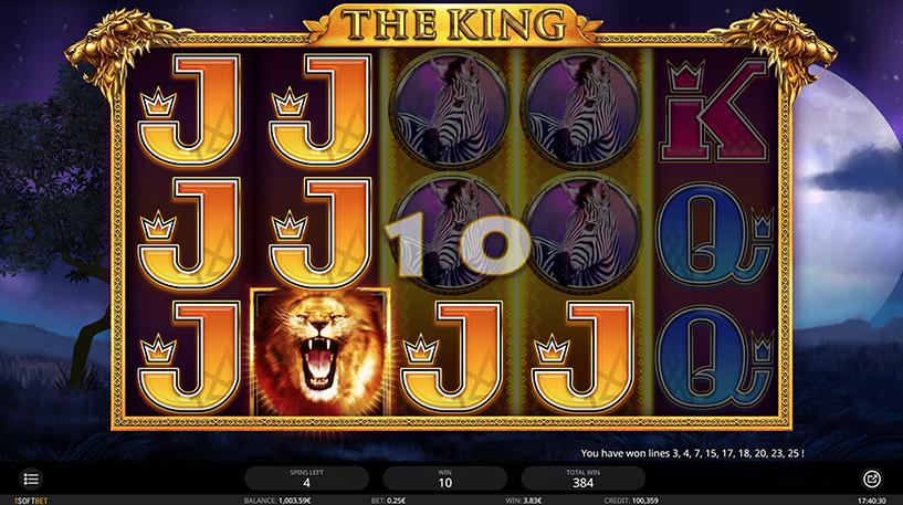 The King Slot Screenshot 1