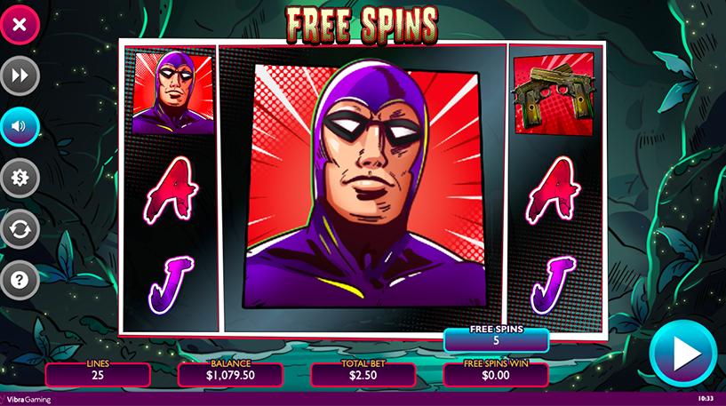 The Phantom Slot Screenshot 1