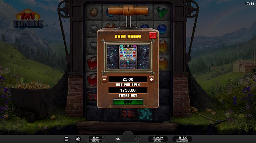 TNT Tumble Slot Screenshot 1