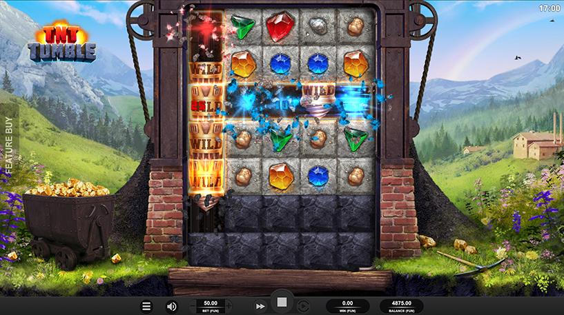 TNT Tumble Slot Screenshot 3