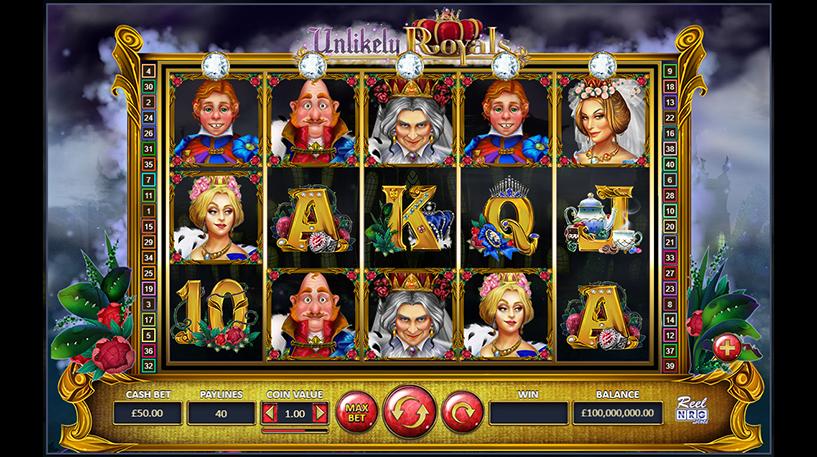 Unlikely Royals Slot Screenshot 1