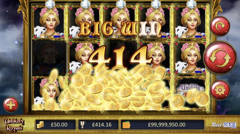 Unlikely Royals Slot Screenshot 2