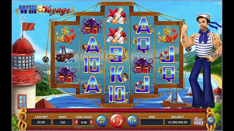 Win Voyage Slot Screenshot 3