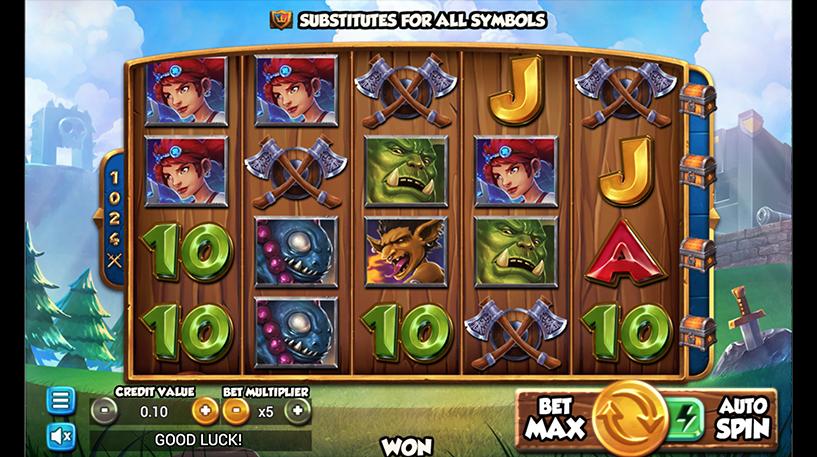 Battle Heroes Slot Screenshot 3