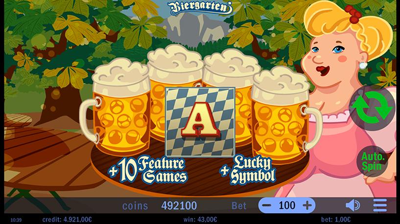 Biergarten Slot Screenshot 1