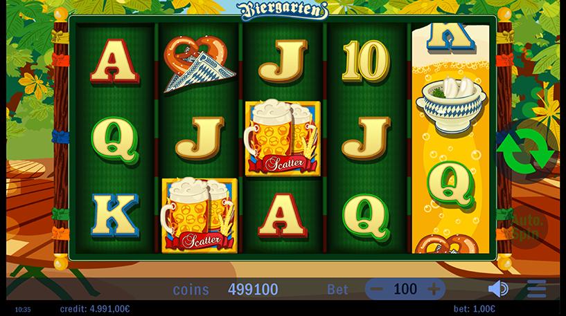 Biergarten Slot Screenshot 3