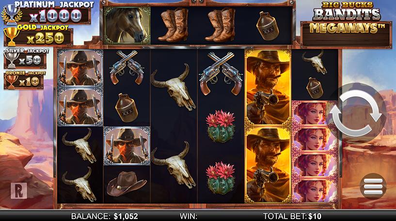 Big Bucks Bandits Megaways Screenshot 1