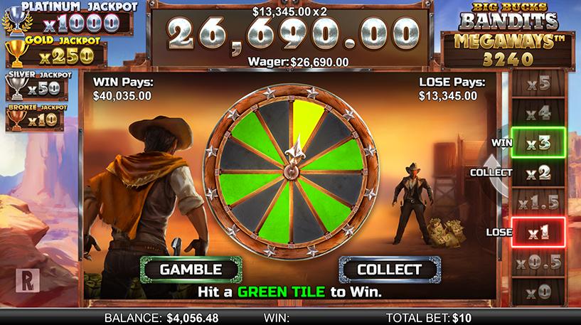 Big Bucks Bandits Megaways Screenshot 3