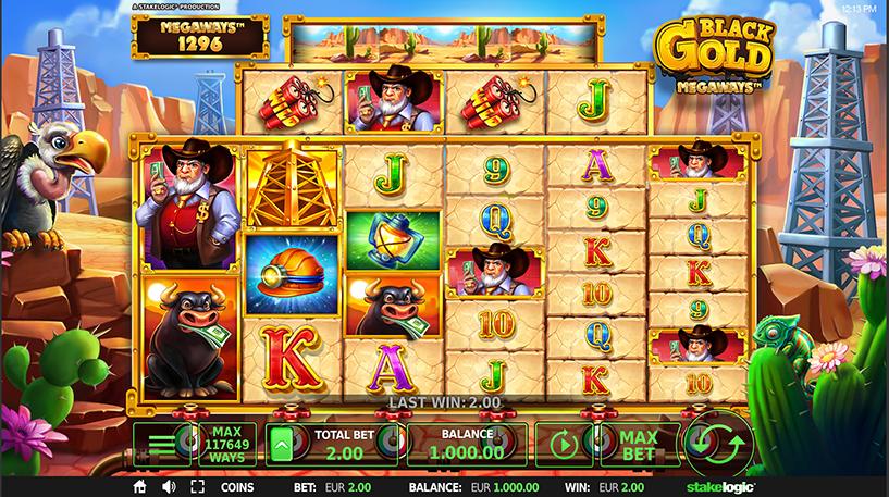 Black Gold Megaways Screenshot 1