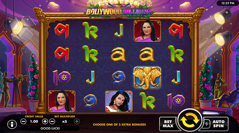 Bollywood Billions Slot Screenshot 1