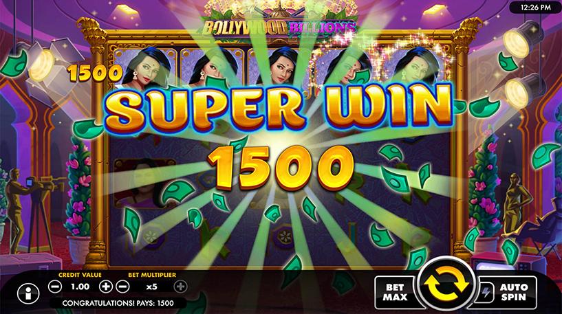 Bollywood Billions Slot Screenshot 2